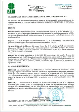 180717 ART WEB ESCRITO DIRIGIDO SEC ESTADO EDU 16 07 2018